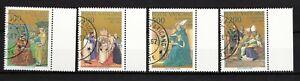 """3) Vatikan ^1987 """" Hl.Augustinus """" Mi.Nr: 907 - 10 gest. (2484)"""