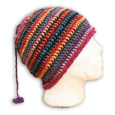 NEW Wool Hat Beanie Skull Cap Kufi Moroccan Cap African Warm Hippy Hand Knitted