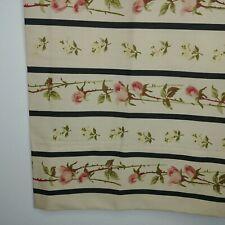 Vtg Pair 2 Rare Ralph Lauren Primrose Striped Standard Pillow Cases Floral
