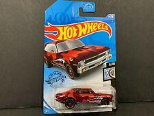 Hot Wheels Chevy Nova 68 Red 73/250 1/64