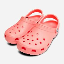Pink Melon Classic Clogs for Women by Crocs Shoes