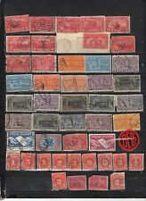U.S.A.- Lot Of Revenue And Postage Due Early Used - Unused Stamps(URP3)