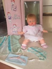 OTT-14 1960's  Ideal Tiny Thumbelina Doll & Case Vintage Outfits / Accessories!!