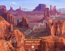 Arizona - MONUMENT VALLEY #3 - Travel Souvenir Flexible Fridge MAGNET