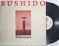 Bushido DELIVERANCE lp 1985 Third Mind Records TMLP 12 experimental electronic
