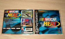 PLAYSTATION 1 * NASCAR HEAT * 2000 BL COMPLETE & EXCELLENT! GREAT RACING GAME!