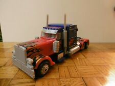 Transformers ROTF Leader Class Optimus Prime  sound and light 100% complet