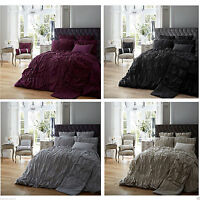 BRAND NEW LUXURY DUVET COVER WITH PILLOW CASE BEDDING SET QUILT COVER SIZE