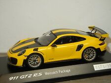 Porsche 911 991 GT2 RS Weissach Package 2017 - Spark 1:43 in Box *35920
