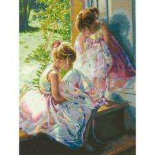 """Dimensions Gold Collection Counted Cross Stitch Kit Ballerina Dreams 11""""X14"""""""