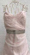 Lipsy Long Maxi Dress Evening Wedding Prom Party Size 12