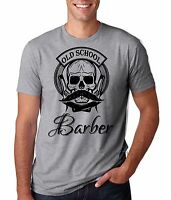 Gift For Barber T-Shirt Barbershop Hipster Cool Old School Barber Tee Shirt