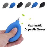 Hearing Aid Puffer Air Blower Metal Tip Cleaning Pump Dryer Cleaner Earmold