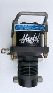 HASKEL ATV-4 Pneumatique Air Conduit Liquide / Pompe 1200 Psi Wp 4 : 1 Ratio #