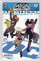 Batgirl And The Birds Of Prey DC Comics Rebirth #1  (Variant Cover Ben Cadwell)