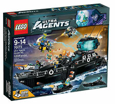 New and Sealed: Lego 70173 Ultra Agents Ocean HQ