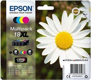 EPSON 18 XL MULTIPACK MARGHERITA NERO + COLORI - NUOVA - POSTA 1