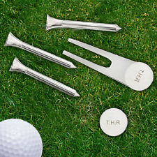 Personalised Gifts, Golf Set, Tees, Pitch Repairer, Ball Marker, Father's Day