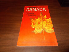 1964/65 Canada Governmant-Issued  Vintage Road Map