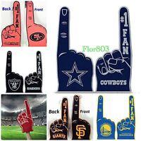 NFL,MLB,NBA Team #1 Fan Foam Finger