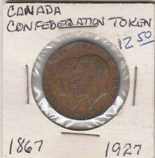 LAM(B) Token - Canadian Confederation Token - 1867-1927