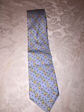 Peter Blair 100% Silk Blue With Dogs And Dog Houses Neck Tie Made In USA