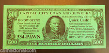 Capital City Loan and Jewelry Pawn Shop 2nd Location Opening Advertisement