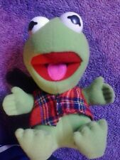 Kermit The Frog Muppets Plush McDonalds Toy Christmas 1987 9 Inches Baby cool