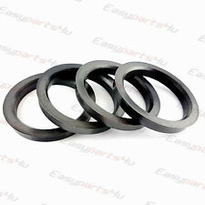 59,1 mm Conversion spigot rings for alloy wheels 4x Spigot Rings 68,1  mm