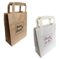 HEN PARTY BAGS PAPER TEAM BRIDE TO BE GOODY FAVOUR PAPER BAG NIGHT DO ACCESSORY