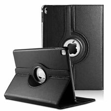 "Apple iPad Pro 12.9"" (1st & 2nd Gen) PU Leather Case Cover w/ 360 Rotating Stand"