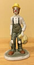 Circus World Museum 1985 Clown Statue Make Up Styles - Wds1
