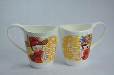 Chinese Wedding Double Happiness Bone China Tea Mug Cup Engagement Bride Gift