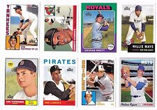 2012 Topps Archives Reprints - Complete Set - 50 Cards