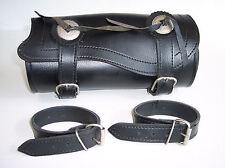 Gepäckrolle Universal mit Riemen Leder Tasche Werkzeugrolle Ledertasche