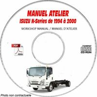 N-SERIES 94-00 Manuel Atelier CDROM ISUZU Anglais Expédition - --, Support - CD