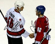 Mario Lemieux Jaromir Jagr Team Canada Czech Signed Photo Autograph Reprint