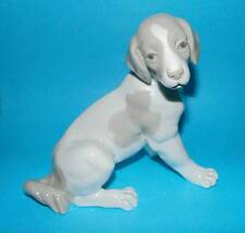Nao by Lladro Figurine ' Sitting Dog '  ornament 1st Quality  (MD23)