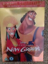 Disney Emperors New Groove1 and 2 Box set WITH NEW LIMITED EDITION O RING SLEEVE