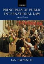 Principles of Public International Law by Brownlie, Ian