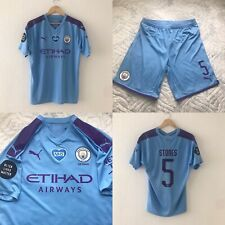 Manchester City Puma Player Issue Home Football Shirt SET Size L, STONES 5