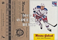 2012-13 O-Pee-Chee Retro Hockey #s 1-300 - You Pick - Buy 10+ cards FREE SHIP