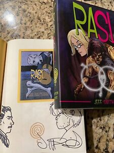 RASL Signed & Numbered & Double Hand Sketched ~ Special Edition HC Jeff Smith