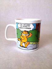Vintage 1978 Garfield Coffee Cup Mug