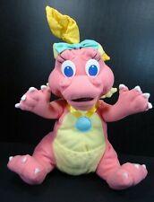 """Dragon Tales Cassie Plush Pink Dragon 11"""" Playskool 1999"""