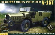 ACE 1/72 72535 WWII French V-15T Artillery Tractor (4x4)