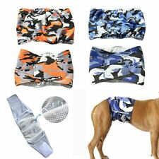 Pet Male Dog Belly Band Wraps Washable Diapers for Small and Medium Dogs S-XL