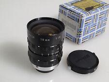 CINE NIKKOR LENS 10mm 1.8 C Mount M25 boxed Nikon S16/Blackmagic PCC