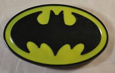 "Batman Black & Yellow Logo 4"" Belt Buckle DC Comics"