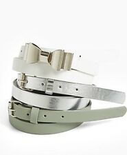 Torrid Plus Size 0 12W 0X Bow Skinny Belt Set of 3 NWT